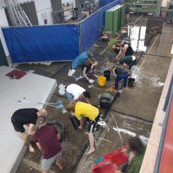 Deep Water Soloing - Foto von BlocSchmiede Überschwemmung